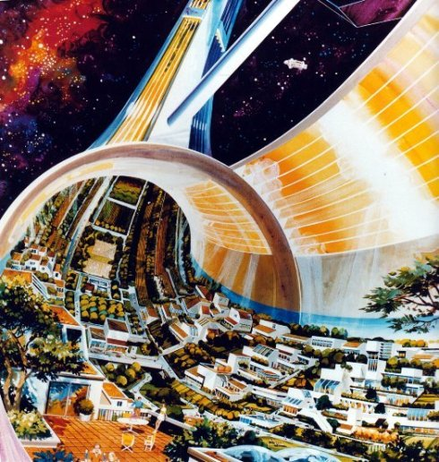 Space Colonies and Stations