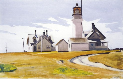 Edward Hopper - Highland Light, North Truro (1930)